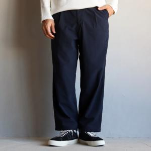 SALE 40%OFF  エディットクロージング パンツ EDIT CLOTHING ルーズテーパードスラックス Loose tapered slacks ネイビー NAVY 2020新作|charger