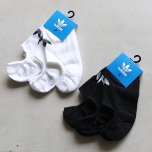 アディダスオリジナルス 靴下 adidas Originals ローカットソックス HERI LOW CUT SOCKS 3足パック ブラック/ホワイト 2色展開 charger