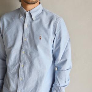 ポロ ラルフローレン シャツ POLO RALPH LAUREN クラシックフィットシャツ CLASSIC FIT SHIRTS ブルー BLUE 2020春夏新作|charger