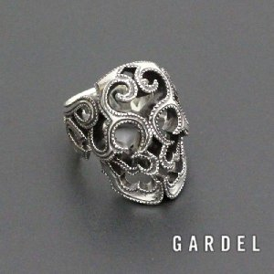 GARDEL ガーデル 公式通販,  SURVIVE SKULL RING  スカルリング SILVER  公式通販|charger