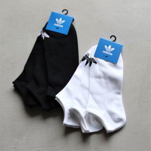 アディダスオリジナルス  靴下 adidas originals トレフォイル ライナー ソックス TREFOIL LINER SOCKS ホワイト/ブラック 2色展開 2021春夏新作 charger