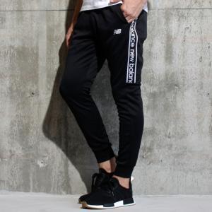 ニューバランス ジャージ New Balance T360 スエジャー ライト パンツ BLACK WHITE ブラック ホワイト 2018秋冬新作|charger