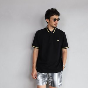 SALE 30%OFF フレッドペリー ポロシャツ FRED PERRY シングル チップ ポロシャツ ブラック Single Tipped Fred Perry Shirt BLACK 2019春夏|charger