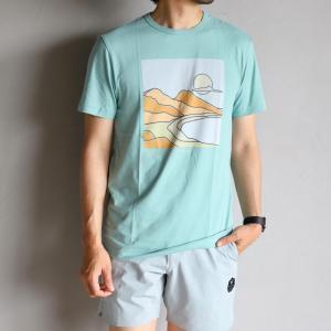 SALE 60%OFF VISSLA Tシャツ ヴィスラ 半袖プリントTシャツ S/S PRINT TEE ミント MINT 2020春夏新作|charger