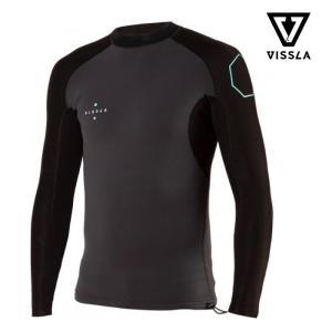 SALE 40%OFF ヴィスラ タッパー VISSLA 1mm ハイシーズジャケット 1MM HIGH SEAS JACKET LS グレー GRAY 2020春夏新作|charger