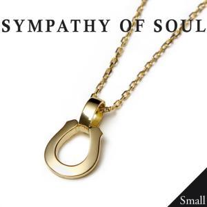 SYMPATHY OF SOUL シンパシーオブソウル Small Charn Necklace Horseshoe K18YG スモールチェーンネックレス ホースシュー K18ゴールド Safari掲載シリーズ|charger