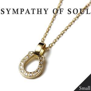 SYMPATHY OF SOUL Small Charn Necklace Horseshoe K18YG Diamond スモールチェーンネックレス ホースシュー K18ゴールド ダイヤモンド LEON Safari掲載|charger