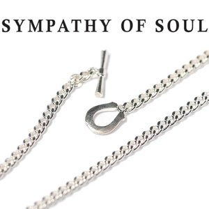 シンパシーオブソウル ネックレス SYMPATHY OF SOUL クラシック チェーン ネックレス シルバー Classic Chain Necklace Silver Horseshoe|charger