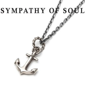 SYMPATHY OF SOUL シンパシーオブソウル Anchor Necklace Silver...