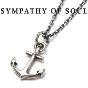 SYMPATHY OF SOUL シンパシーオブソウル Large Anchor Necklace ...