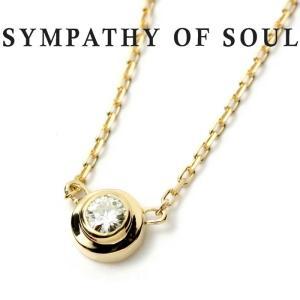 シンパシーオブソウル ネックレス SYMPATHY OF SOUL One Diamond Necklace K18 Yellow Gold ワン ダイヤモンド ネックレス K18 イエローゴールド charger