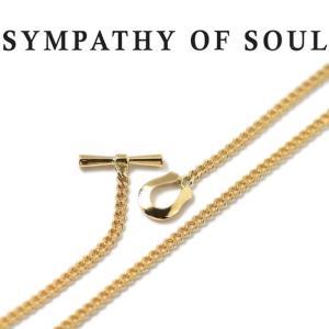 シンパシーオブソウル ネックレス SYMPATHY OF SOUL クラシックチェーンネックレス-ナロー K18YG Classic Chain Necklace - Narrow K18YG|charger