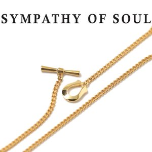 シンパシーオブソウル ネックレス SYMPATHY OF SOUL 24金 クラシックチェーンネックレス ナロー Classic Chain Necklace Narrow K24YG|charger