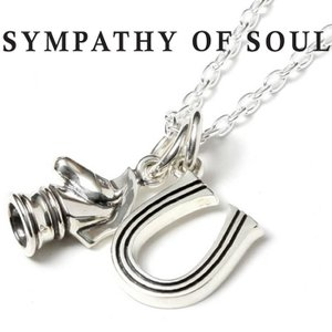 SYMPATHY OF SOUL × PUERTA DELSOL シンパシーオブソウル × プエルタデルソル コラボ Fang Necklace ファング ネックレス Silver シルバー|charger