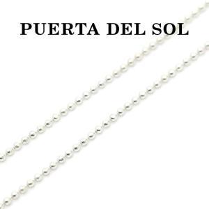 PUERTA DEL SOL,プエルタデルソル チェーン,bボールチェーン 45cm,Silver,通販,取扱い|charger