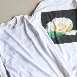 Niche. Tシャツ ニッチ ローズL/STシャツ[Margaret Merril]  ROSE L/S Tee [Margaret Merril] ホワイト WHITE 2020秋冬新作|charger