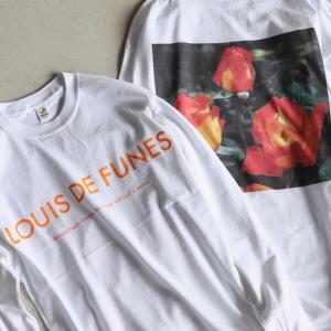 Niche. Tシャツ ニッチ ローズL/STシャツ[LOUIS DE FUNES]  ROSE L/S Tee [LOUIS DE FUNES] ホワイト WHITE 2020秋冬新作|charger