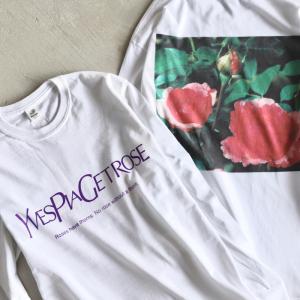 Niche. Tシャツ ニッチ ローズL/STシャツ[YVES PIAGET ROSE]  ROSE L/S Tee [YVES PIAGET ROSE] ホワイト WHITE 2020秋冬新作|charger