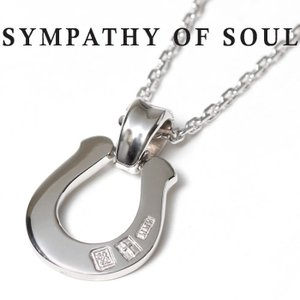 シンパシーオブソウル ネックレス ホースシュー SYMPATHY OF SOUL Horseshoe Large Pendant Silver × Silver  Chain 1.6mm