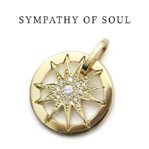 シンパシーオブソウル,SYMPATHY OF SOUL 通販, Sunshine Pendant - サンシャインペンダント  K18 Yellow Gold ダイヤモンド|charger