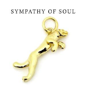 シンパシーオブソウル ペンダントパンサーチャーム K18イエローゴールド SYMPATHY OF SOUL Panther Charm -K18Yellow Gold|charger