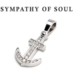 SYMPATHY OF SOUL シンパシーオブソウル Anchor Pendant Medium ...
