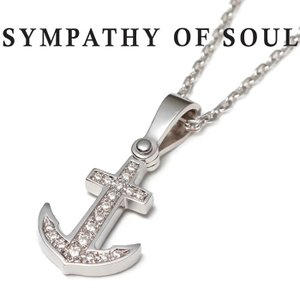 SYMPATHY OF SOUL シンパシーオブソウル Anchor Necklace Medium...