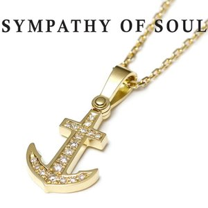 SYMPATHY OF SOUL シンパシーオブソウル Anchor Medium K18Yello...