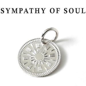 シンパシーオブソウル ネックレス シルバー SYMPATHY OF SOUL Hope Sun Coin Charm Silver ホープ サン コイン チャーム シルバー charger