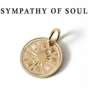 シンパシーオブソウル ネックレス ゴールド SYMPATHY OF SOUL Hope Sun Coin Charm K10 Yellow Gold ホープ サン コイン チャーム K10 イエローゴールド charger