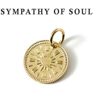 シンパシーオブソウル ネックレス ゴールド SYMPATHY OF SOUL Hope Sun Coin Charm K18 Yellow Gold ホープ サン コイン チャーム K18 イエローゴールド|charger