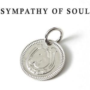 シンパシーオブソウル ネックレス シルバー SYMPATHY OF SOUL Ever Fortune Coin Charm Silver エヴァー フォーチュン コイン チャーム シルバー charger