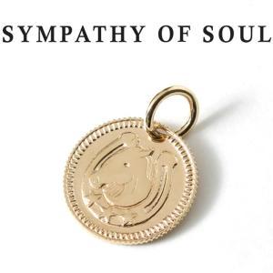 シンパシーオブソウル ネックレス ゴールド SYMPATHY OF SOUL Ever Fortune Coin Charm K10YG エヴァー フォーチュン コイン チャーム K10 イエローゴールド charger