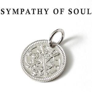 シンパシーオブソウル ネックレス シルバー SYMPATHY OF SOUL Bless Coin Charm Silver ブレス コイン チャーム シルバー charger