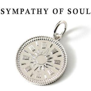シンパシーオブソウル ネックレス シルバー SYMPATHY OF SOUL Medium Hope Sun Coin Charm Silver ミディアム ホープ サン コイン チャーム シルバー charger