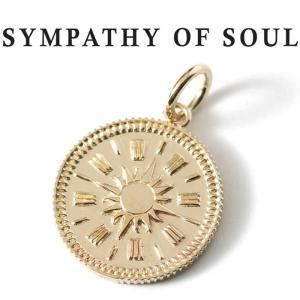 シンパシーオブソウル ネックレス ゴールド SYMPATHY OF SOUL Medium Hope Sun Coin Charm K10YG  ミディアム ホープ サン コイン K10 イエローゴールド charger