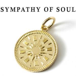 シンパシーオブソウル ネックレス ゴールド SYMPATHY OF SOUL Medium Hope Sun Coin Charm K18YG  ミディアム ホープ サン コイン K18 イエローゴールド|charger