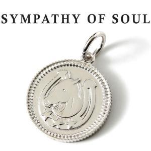 シンパシーオブソウル ネックレス シルバー SYMPATHY OF SOUL Medium Ever Fortune Coin Charm Silver ミディアム エヴァー フォーチュン コイン シルバー charger