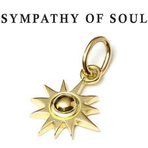 シンパシーオブソウル ネックレス K18 ゴールド SYMPATHY OF SOUL Small Sun Charm K18Yellow Gold ペンダント スモール サン 太陽 チャーム K18 ゴールド|charger