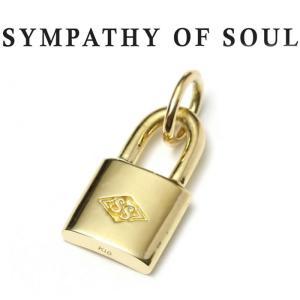 シンパシーオブソウル ネックレス K18 ゴールド SYMPATHY OF SOUL Small Key Charm K18Yellow Gold ペンダント スモール キー  錠前  K18 イエローゴールド|charger