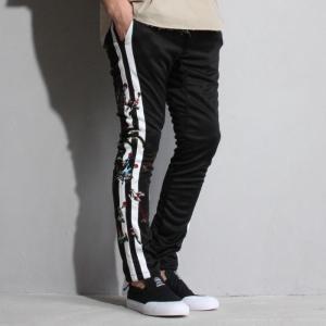 SALE 40%OFF セヴシグ パンツ SEVESKIG ジョガー エンブロイダリー パンツ ブラック JOGGER EMBROIDERY PANTS BLACK 2019春夏新作|charger