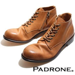 PADRONE パドローネ 再入荷完了 IN ZIP CHUKKA BOOTS BEIGE インジップ チャッカーブーツ ベージュ|charger