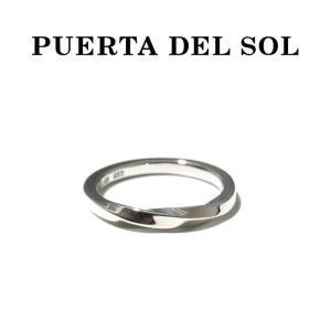 PUERTA DEL SOL プエルタデルソル Mobius Strip Medium Ring SILVER メビウスストリップ ミディアム リング シルバー|charger