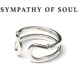 シンパシーオブソウル 指輪 SYMPATHY OF SOUL Double Horseshoe Ring Silver ダブル ホースシュー リング シルバー|charger