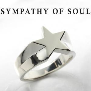 シンパシーオブソウル リング SYMPATHY OF SOUL Signet Star Ring Silver シグネット スター リング シルバー|charger