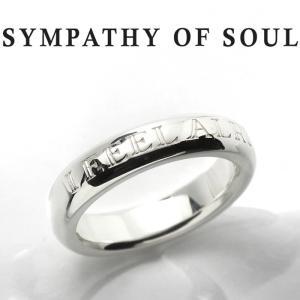 シンパシーオブソウル リング SYMPATHY OF SOUL Heavy Weight Ring - I FEEL ALRIGHT Silver ヘビー ウェイト リング シルバー|charger