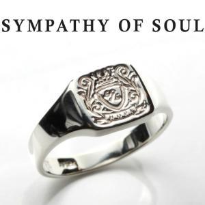 シンパシーオブソウル リング SYMPATHY OF SOUL Small Signature Ring Silver スモール シグネーチャー リング シルバー|charger