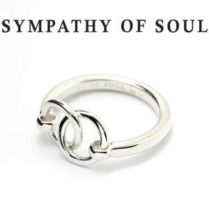 シンパシーオブソウル リング SYMPATHY OF SOUL Unity Double Ring SILVER ユニティー ダブル リング シルバー charger