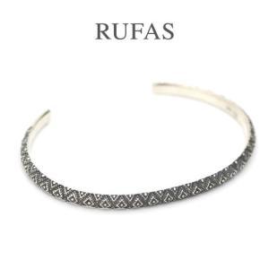 RUFAS ルーファス,バングル BANGLE ナローバングル シルバー  Silver メンズ  レディース ユニセックス正規取扱い 通販 |charger