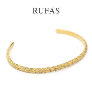RUFAS ルーファス,バングル BANGLE ナローバングル シルバー K18ゴールドコーティング Silver GOLD メンズ  レディース ユニセックス正規取扱い 通販 |charger